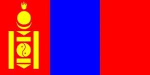 прапор Монголії,