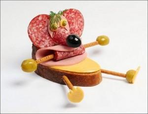 креативные закуски к столу